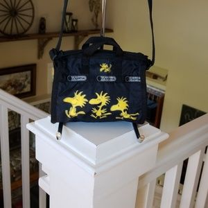 Lesportsac Mini Peanut Charater Crossbody Bag